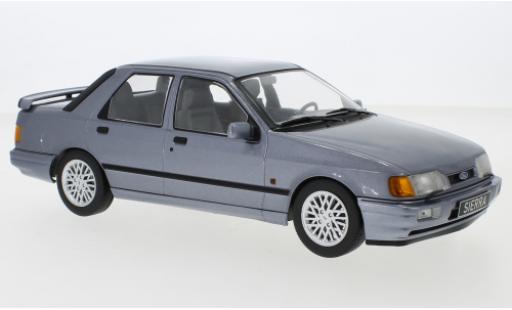 Ford Sierra 1/18 MCG Cosworth metallise grise 1988 miniature