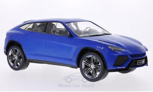 Lamborghini Urus 1/18 MCG metallise bleue 2012 Türen und Hauben geschlossen miniature