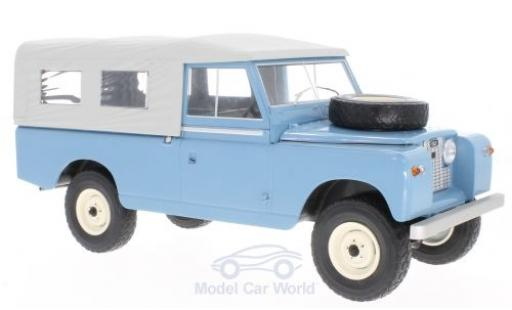 Land Rover 109 1/18 MCG Pick Up Series II bleue/grise 1959 miniature