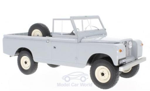 Land Rover 109 1/18 MCG Pick Up Series II grise 1959 miniature