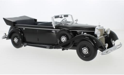 Mercedes 770 1/18 MCG (W150) Cabriolet noire 1938 miniature