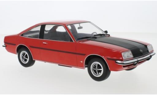 Opel Manta 1/18 MCG B SR rouge/noire 1975 miniature