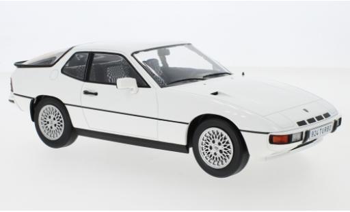 Porsche 924 1/18 MCG Turbo white 1979 diecast model cars