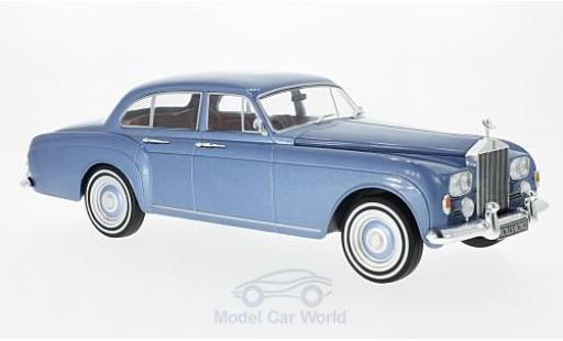 Rolls Royce Silver Cloud 1/18 MCG III Flying Spur H.J.Mulliner metallise bleue RHD 1965 miniature