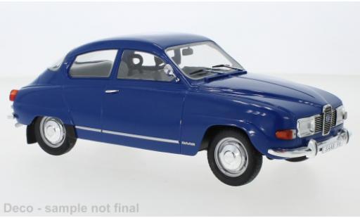 Saab 96 1/18 MCG V4 bleue 1971 miniature