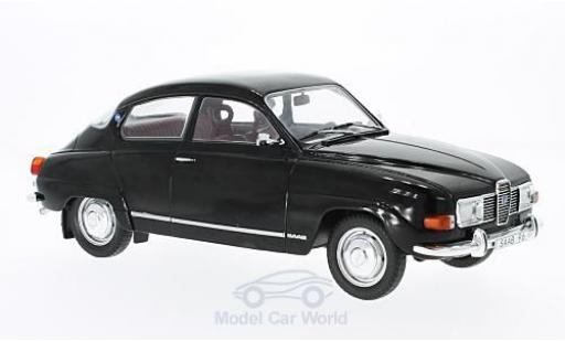 Saab 96 1/18 MCG V4 black 1971 diecast model cars