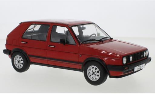 Volkswagen Golf 1/18 MCG II GTD red 1984 5-trg. diecast model cars