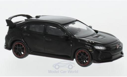 Honda Civic 1/64 Mini GT Type R (FK8) black diecast model cars