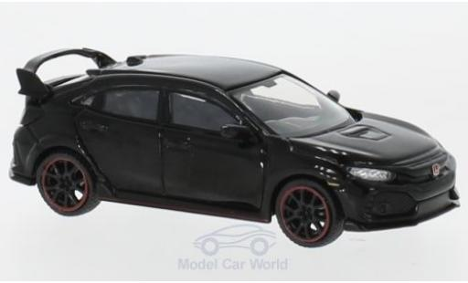 Honda Civic 1/64 Mini GT Type R (FK8) black RHD diecast