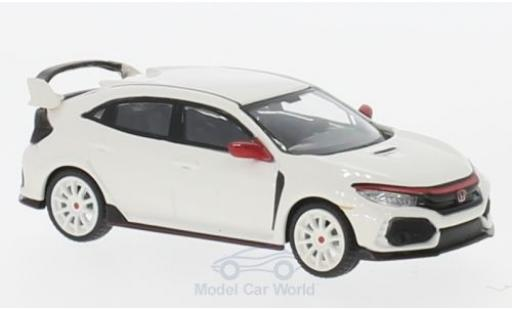 Honda Civic Type R 1/64 Mini GT (FK8) white diecast model cars