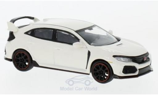 Honda Civic 1/64 Mini GT Type R blanche miniature