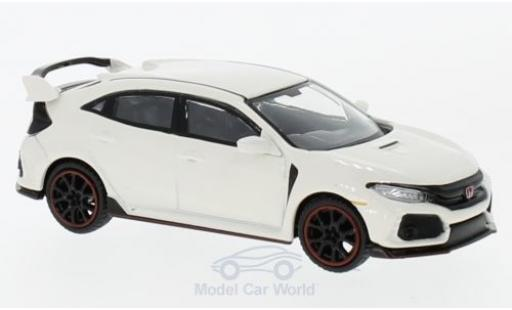 Honda Civic 1/64 Mini GT Type R blanco RHD miniatura