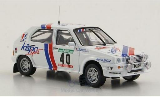Citroen Visa 1/43 Mini Partes Chrono Gr.B No.40 Rallye Portugal 1983 miniature