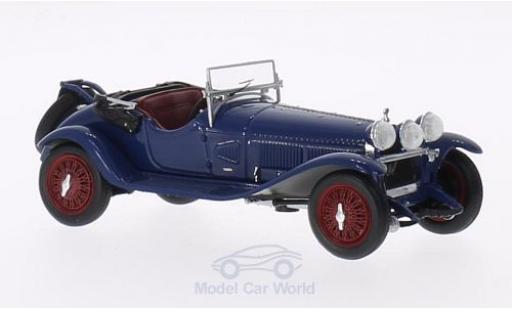 Alfa Romeo 6C 1/43 Minichamps 1750 G.S. bleue RHD 1930 miniature