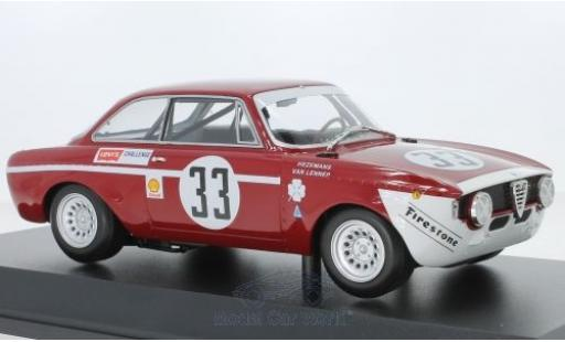 Alfa Romeo GT 1/18 Minichamps A 1300 Junior No.33 4h Jarama 1972 T.Hezemans/G.van Lennep diecast model cars