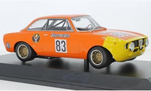 Alfa Romeo GT 1/18 Minichamps A 1300 Junior No.83 Jägermeister DRM 1972 R.Maschke miniatura