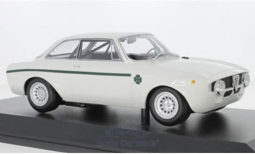 Alfa Romeo GT 1/18 Minichamps A 1300 Junior white 1971 diecast