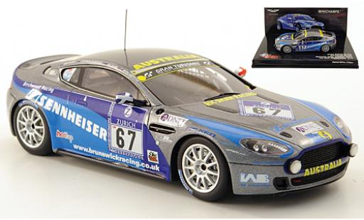 Aston Martin Vantage 1/43 Minichamps V8 N24 No.67 Birchwood Racing 24h Nürburgring 2010 M.Griffiths/R.Shaw/S.Borness/R.Rubis diecast model cars
