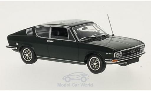 Audi 100 1/43 Minichamps Coupe S green 1969 diecast model cars