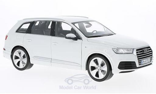 Audi Q7 1/18 Minichamps blanche 2015 miniature