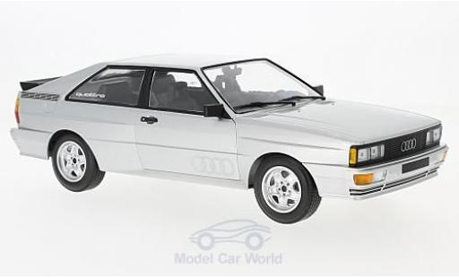 Audi Quattro 1/18 Minichamps quattro grise 1980 miniature