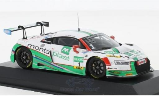 Audi R8 1/43 Minichamps LMS No.1 Montaplast by Land-Motorsport ADAC GT Masters 2017 C.de Phillippi/C.Mies diecast model cars