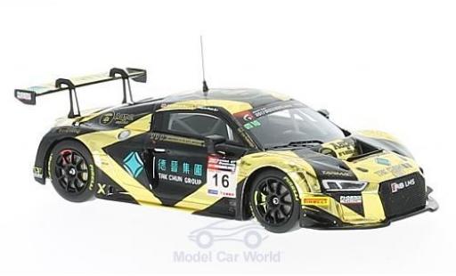 Audi R8 1/43 Minichamps LMS No.16 AAPE / TAK Chun GT Championship China 2017 M.Mohr/E.Lo diecast model cars