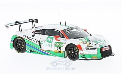 Audi R8 1/43 Minichamps LMS No.29 Montaplast by Land-Motorsport ADAC GT Masters 2016 C.de Phillippi/C.Mies diecast model cars