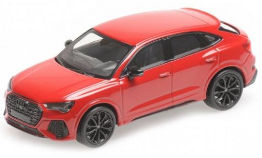 Audi RS Q3 1/43 Minichamps Sportback metallise red 2019