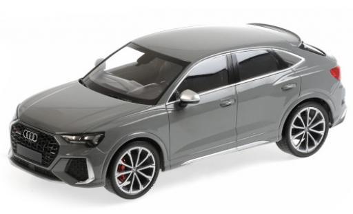 Audi RS Q3 1/18 Minichamps RSQ3 grey 2019 diecast model cars