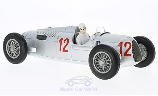Auto Union Typ C 1/18 Minichamps No.12 Formel 1 GP Budapest 1936 H.Stuck miniature