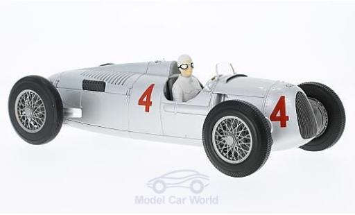 Auto Union Typ C 1/18 Minichamps No.4 Formel 1 GP Monaco 1936 A.Varzi diecast