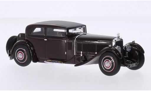Bentley Speed 6 1/43 Minichamps Speed Six Corsica Coupe marron RHD 1930 Blackhawk musée Collection miniature