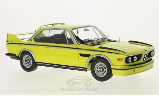 Bmw 3.0 S 1/18 Minichamps CL (E9) jaune/Dekor 1972 miniature