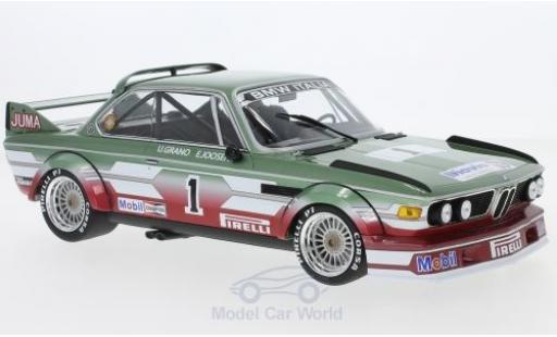 Bmw 3.0 S 1/18 Minichamps BMW CSL No.1 BMW Italia ETCC Zandvoort 1979 U.Grano/E.Joosen diecast