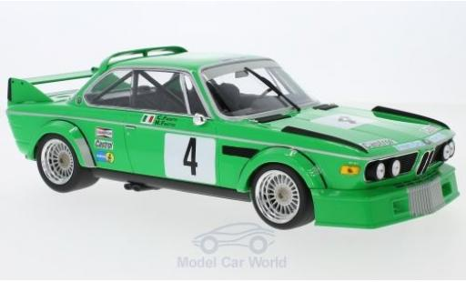 Bmw 3.0 S 1/18 Minichamps BMW CSL No.4 Jolly Club Milano ETCC Zandvoort Trophy 1979 M.Finotto/C.Facetti miniature