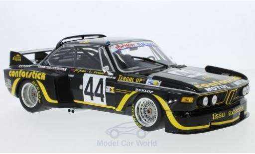 Bmw 3.5 1/18 Minichamps BMW CSL No.44 A.S.P.M. - Tanday Music 24h Le Mans 1976 J-C.Justice/J.Belin miniature
