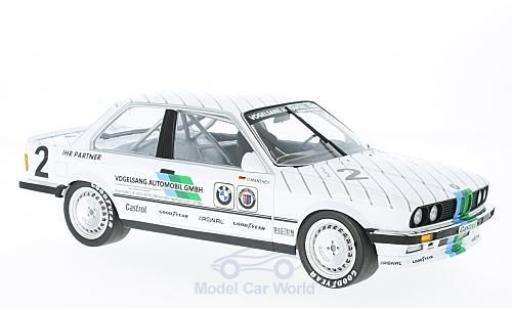 Bmw 325 1/18 Minichamps i No.2 Vogelsang Automobile DTM ADAC Eifelrennen 1986 O.Manthey miniature