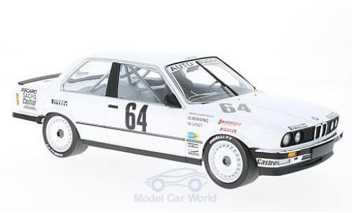 Bmw 325 1/18 Minichamps BMW i No.64 Auto Budde Team 24h Nürburgring 1986 M.Oestreich/O.Rensing/W.Vogt miniature