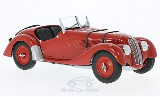 Bmw 328 1/18 Minichamps red 1936 diecast model cars
