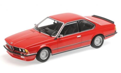 Bmw 635 CSI 1/18 Minichamps rouge 1982
