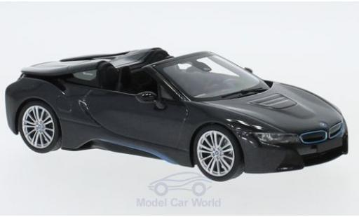 Bmw i8 1/18 Minichamps BMW Roadster (I15) metallic-grey 2017 diecast