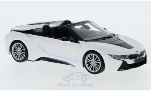 Bmw i8 1/43 Minichamps Roadster (I15) metallise white 2017 diecast model cars