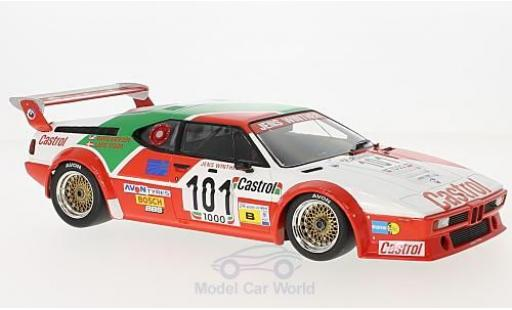 Bmw M1 1/18 Minichamps BMW No.101 Jens Winther Team Castrol 24h Le Mans 1984 J.Winther/D.Mercer/L-V.Jensen miniature