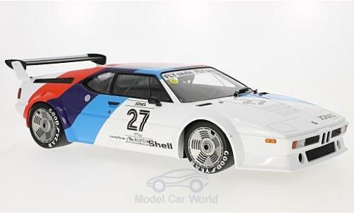 Bmw M1 1979 1/12 Minichamps BMW Procar No.27 BMW Motorsport Procar 1979 A.Jones miniatura