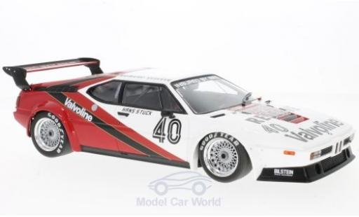 Bmw M1 1980 1/18 Minichamps BMW Procar No.40 Project Four Racing Procar Monaco 1980 H-J.Stuck miniature