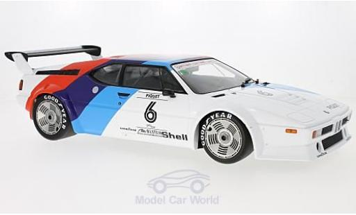 Bmw M1 1979 1/12 Minichamps BMW Procar No.6 BMW Motorsport Procar 1979 N.Piquet miniature