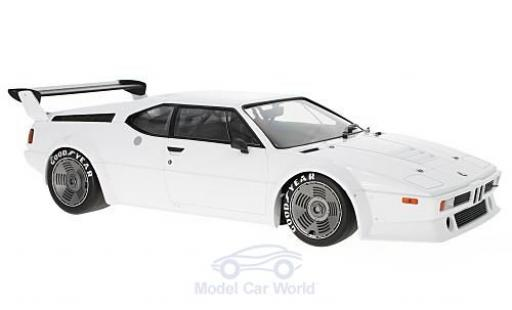 Bmw M1 1979 1/12 Minichamps BMW Procar bianco 1979 Plain Body Version miniatura