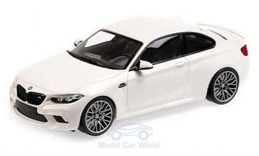 Bmw M2 1/18 Minichamps Competition blanche 2019 miniature