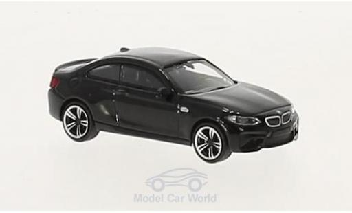 Bmw M2 1/87 Minichamps black 2016 diecast model cars